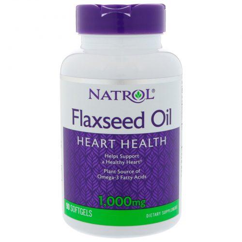 Омега и есенциални мастни киселини Flax Seed