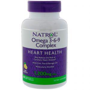 Омега и есенциални мастни киселини Natrol
