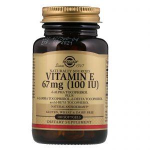 Коса, кожа и нокти Vitamin E