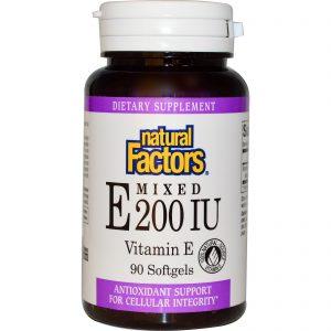 Витамин Е Natural Factors
