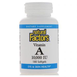 Витамин А Natural Factors