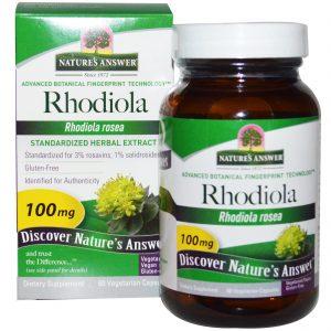 Адаптогени Rhodiola