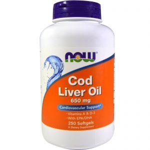 Витамин D Cod Liver Oil